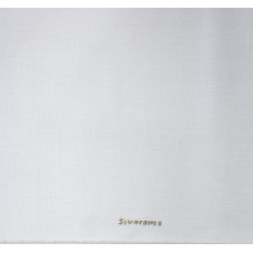 SIYARAM'S  FINE  COTTON BLENDED WHITE  UNSTITCHED SHIRT FABRIC -1.60 MTS